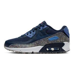 Tenis-Nike-Air-Max-90-Se-Gs-Infantil-Azul