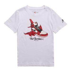 Camiseta-Jordan-Takeoff-Infantil-Branca