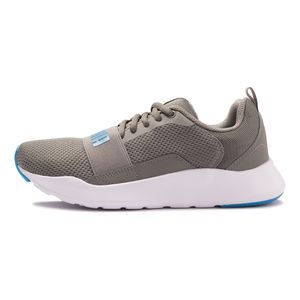 Tenis-Puma-Wired-Gs-Infantil-Cinza