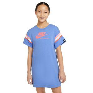 Vestido-Nike-Heritage-Ss-Infantil-Azul