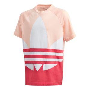 Camiseta-adidas-Trefoil-3D-Adicolor-Infantil-Rosa