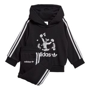 Conjunto-adidas-Sport-Goofy-Infantil-Preto