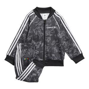 Conjunto-adidas-Sport-Goofy-Infantil-Cinza
