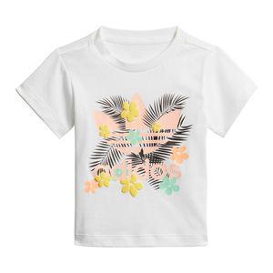 Camiseta-adidas-Originals-Trefoil-Infantil-Branca