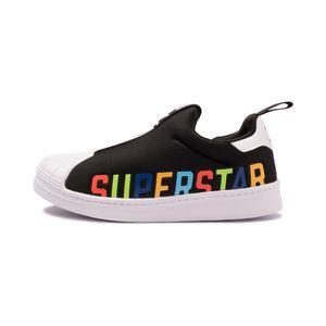 Tenis-adidas-Superstar-360-X-PS-Infantil-Preto