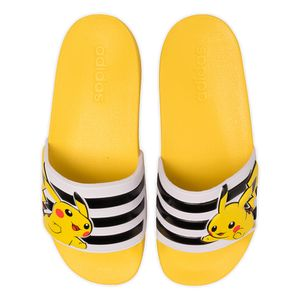 Chinelo-adidas-Adilette-Pokemon-Shower-Infantil-Amarelo