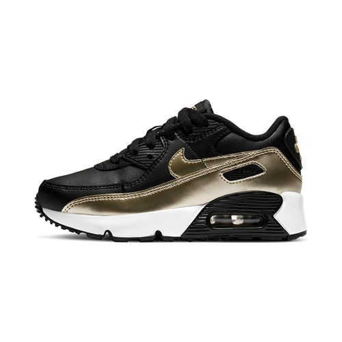 Tenis-Nike-Air-Max-90-LTR-PS-Infantil-Preto