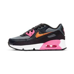 Tenis-Nike-Air-Max-90-Ltr-PS-Infantil-Multicolor