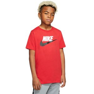 Camiseta-Nike-Futura-Ic-Infantil-Vermelha
