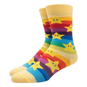 Meia-Lupo-Raimbow-Cano-Longo-Infantil-Multicolor