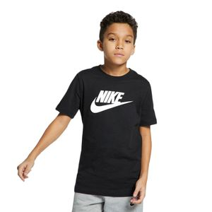 Camiseta-Nike-Futura-IC-Infantil-Preto