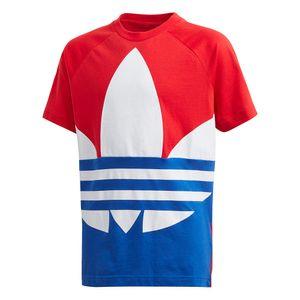 Camiseta-adidas-Big-Trefoil-Infantil-Multicolor