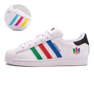 Tenis-adidas-Superstar-GS-Infantil-Branco
