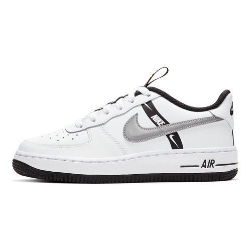 Tenis-Nike-Air-Force-1-LV8-Ksa-GS-Infantil-Branco