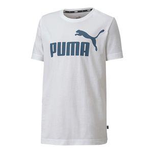Camiseta-Puma-Ess-Logo-B-Infantil-Branca