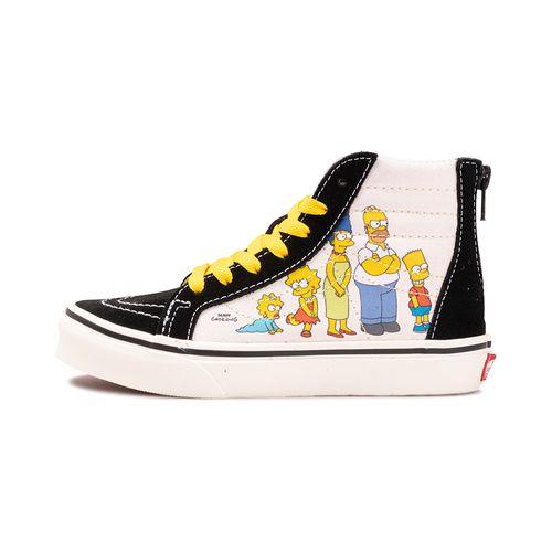 Tenis-Vans-Sk8-Hi-Zip-PS-Infantil-Multicolor