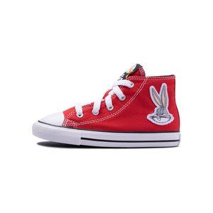 Tenis-Converse-X-Bugs-Bunny-Chuck-Taylor-All-Star-Hi-TD-Vermelho