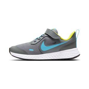 Tenis-Nike-Revolution-5-PS-Infantil-Cinza