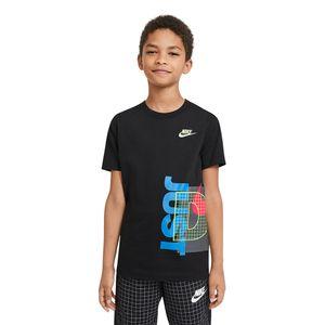 Camiseta-Nike-Infantil-Preto