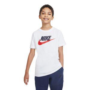 Camiseta-Nike-Futura-Ic-Infantil-Branca