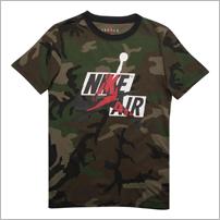 Camiseta Jordan Jumpman Classics Camo Infantil