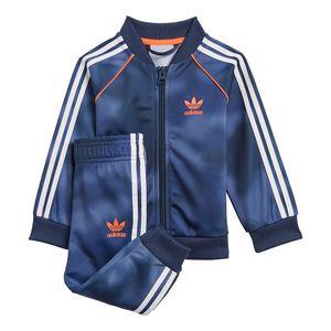 Conjunto-adidas-Allover-Print-Camo-I-Infantil-Azul