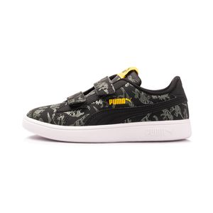 Tenis-Puma-Smash-V2-Archeo-PS-Infantil-Multicolor
