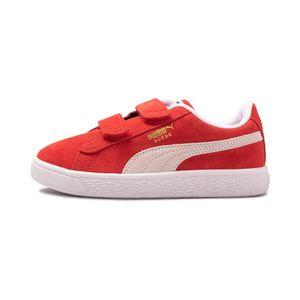 Tenis-Puma-Suede-Classic-XXI-PS-Infantil-Vermelho