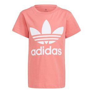 Camiseta-adidas-Originals-Trefoil-Infantil-Rosa