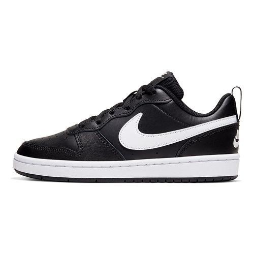 Tenis-Nike-Court-Borough-Low-2-GS-Infantil-Preto