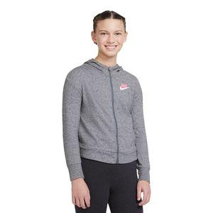 Blusa-Nike-Sportswear-Infantil-Cinza