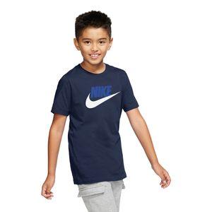 Camiseta-Nike-Futura-IC-Infantil-Azul