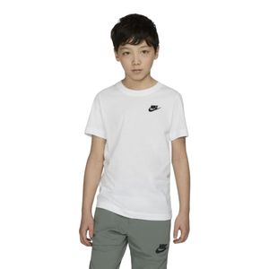 Camiseta-Nike-Futura-Infantil-Branca