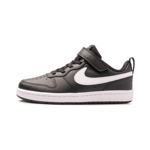 Tenis-Nike-Court-Borough-Low-2-PS-Infantil-Preto