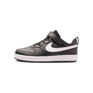 Tenis-Nike-Court-Borough-Low-2-TD-Infantil-Preto