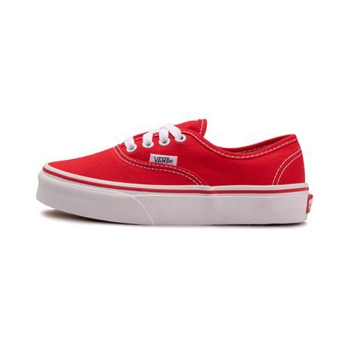 Tenis-Vans-Authentic-PS-Infantil-Vermelho