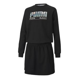 Conjunto-Puma-Alpha-Dress-Infantil-Preto