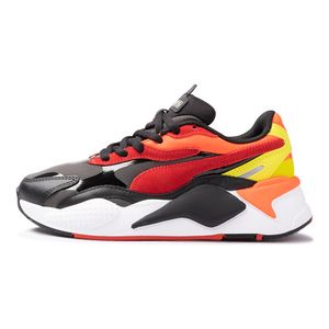 Tenis-Puma-Rs-X³-Neon-Flamme-GS-Infantil-Multicolor