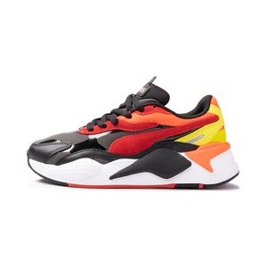 Tenis-Puma-Rs-X³-Neon-Flamme-PS-Infantil-Multicolor