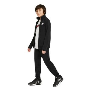 Agasalho-Nike-Futura-Poly-Cuff-Infantil-Preto