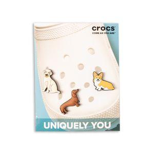Jibbitz-Crocs-Trendy-Dog-3-Pack--Multicolor