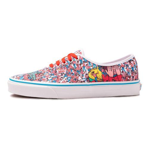 Tenis-Vans-Authentic-x-Where-s-Waldo-Multicolor