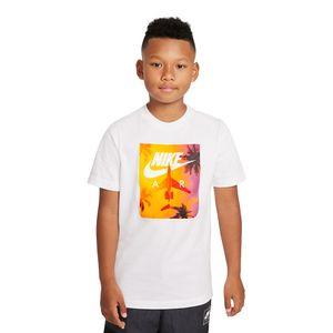 Camiseta-Nike-Sportswear-Infantil-Branca