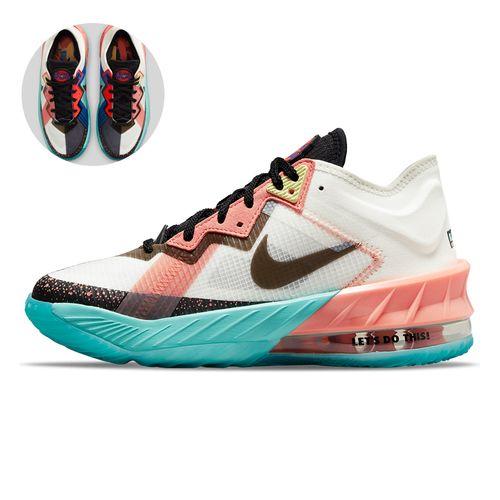 Tenis-Nike-Lebron-XVIII-Low-GS-Infantil-Multicolor