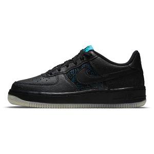 Tenis-Nike-Air-Force-1-GS-Infantil-Preto