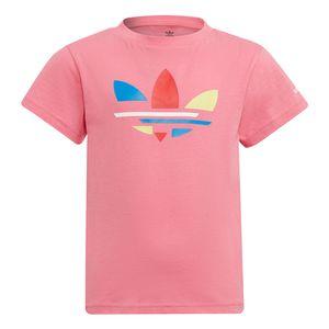 Camiseta-adidas-Adicolor-Infantil-Rosa