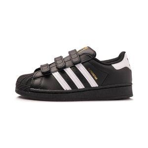 Tenis-adidas-Superstar-PS-Infantil-Preto