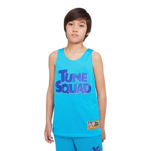 Regata-Nike-x-Space-Jam-Dri-FIT-Tune-Squad-Infantil-Azul