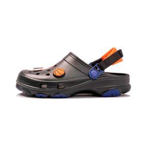 Crocs-Classic-Clogs-x-Space-Jam-2-TD-PS-Infantil-Preto