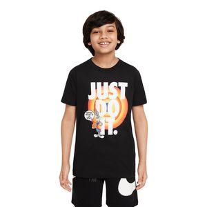Camiseta-Nike-x-Space-Jam-Dri-FIT-JDI-Infantil-Preta